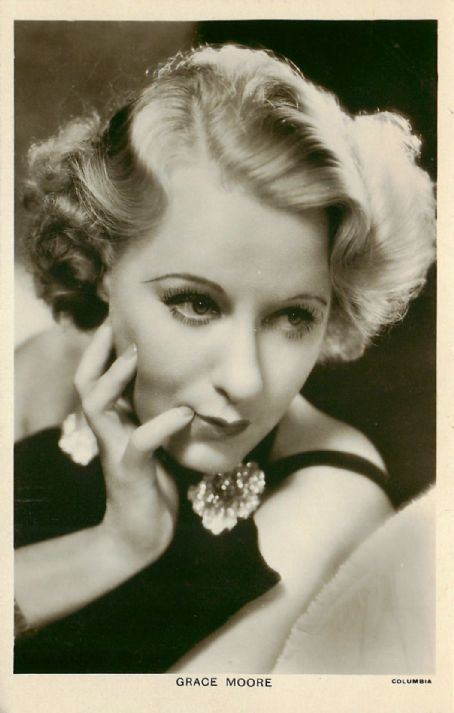 Grace Moore Grace Moore December 5 1898 January 26 1947