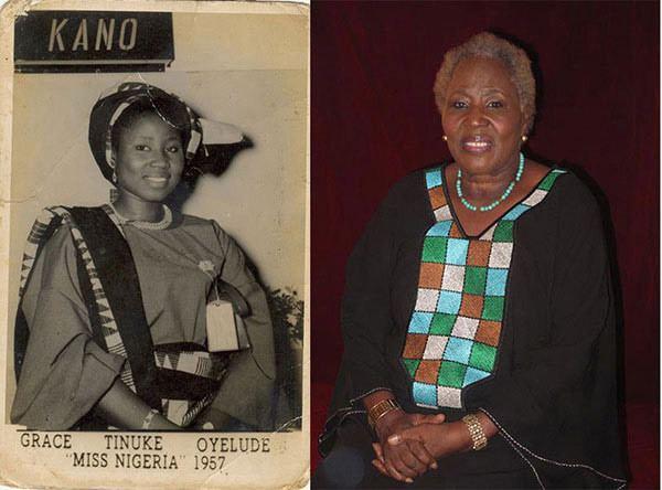 Grace Oyelude Living icon Miss Nigeria 1957 Mrs Grace Tinuke Oyelude