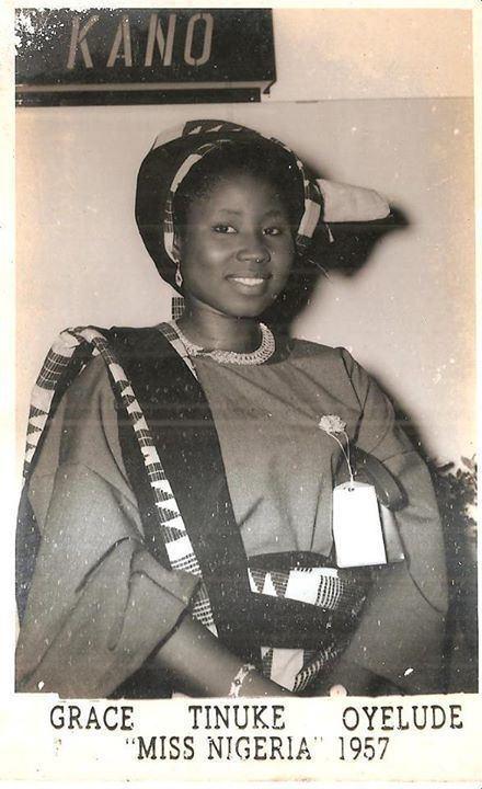 Grace Oyelude First Miss Nigeria Grace Atinuke Oyelude In 1957 Nubian