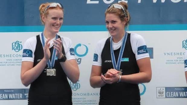 Grace Prendergast Womens pair rivals seek edge at rowing championships Stuffconz