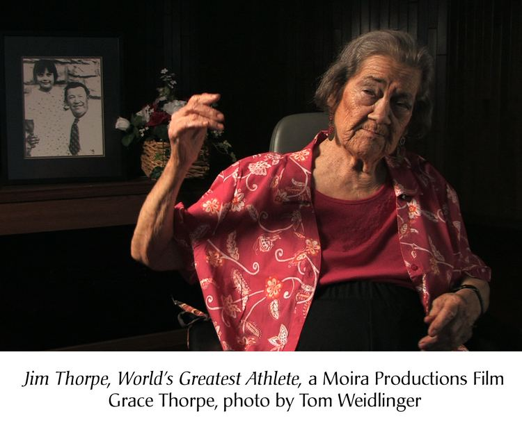 Grace Thorpe JIM THORPE Press Photos