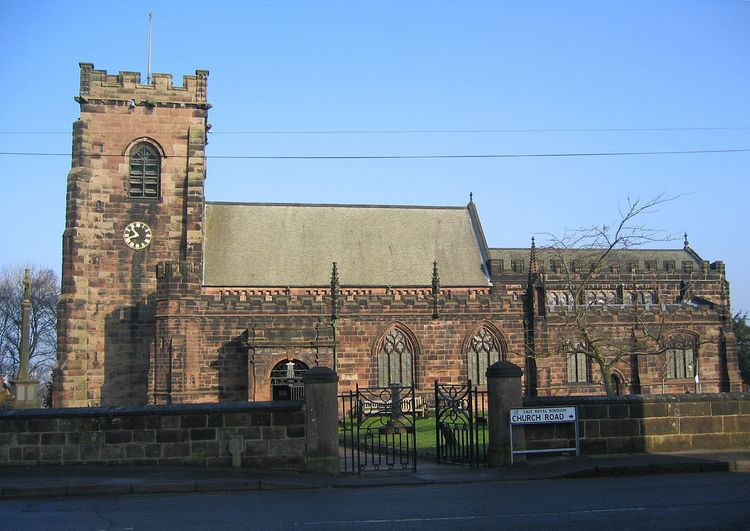 Grade I listed churches in Cheshire