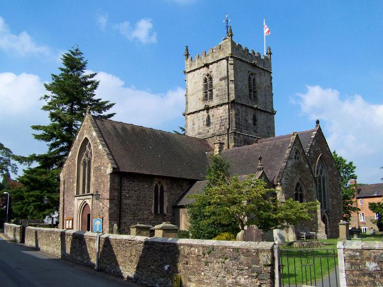 Grade I listed churches in Shropshire