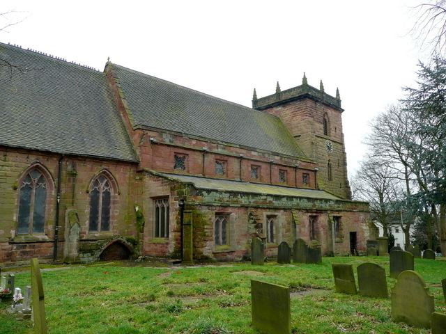 Grade II* listed buildings in Newcastle-under-Lyme (borough)