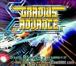 Gradius Advance Gradius Advance ROM Download for Gameboy Advance GBA CoolROMcom