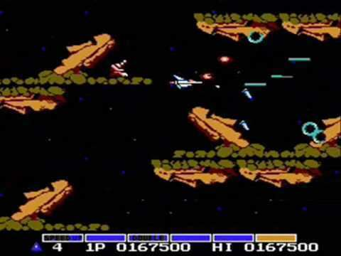 Gradius (video game) NES Gradius YouTube