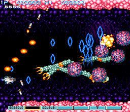 Gradius (video game) Game review Konami39s Gradius III for Nintendo SNES