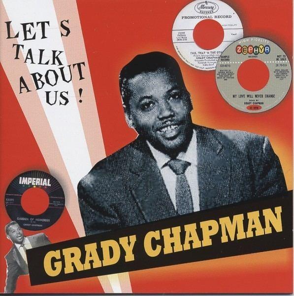 Grady Chapman Grady Chapman CD Lets Talk About Us Bear Family Records