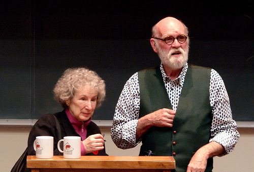 Graeme Gibson Margaret Atwood and Graeme Gibson Flickr Photo Sharing