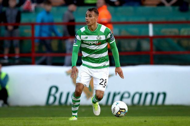 Graham Burke Shamrock Rovers Graham Burke could miss rest of the season with
