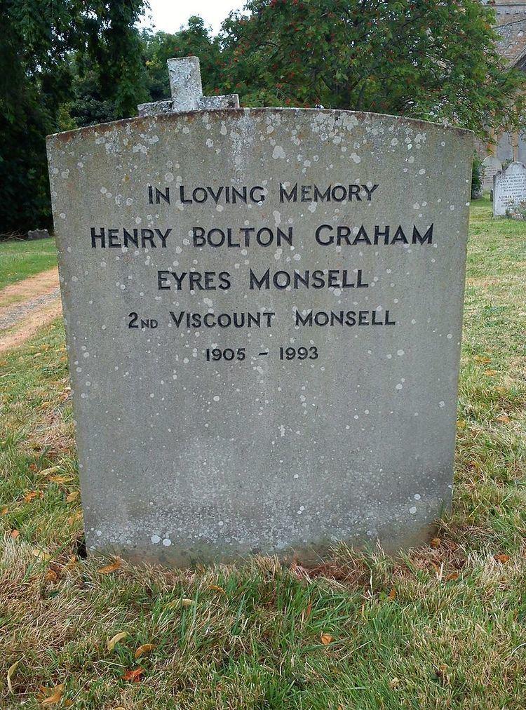 Graham Eyres-Monsell, 2nd Viscount Monsell