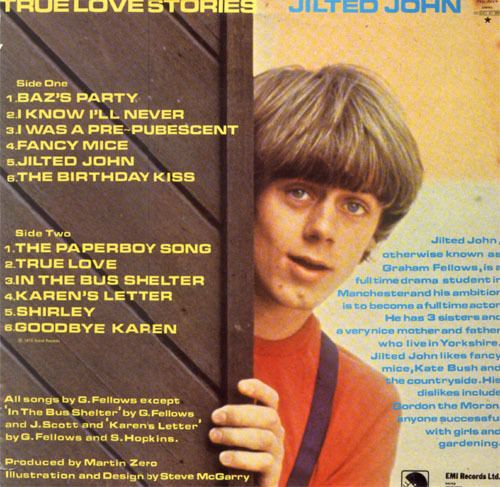 Graham Fellows JUST ANOTHER MOODIE MONDAY JILTED JOHN Neil Moodie