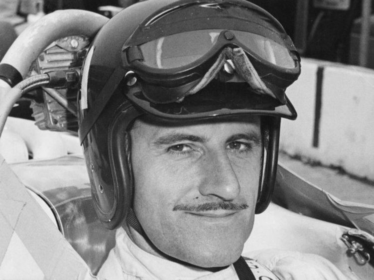 Graham Hill Graham Hill in cockpit of Lola T90 Posters amp Prints by