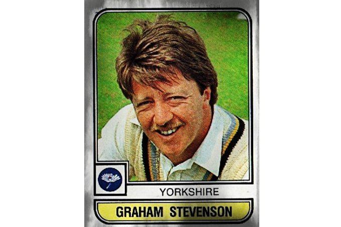 Graham Stevenson (Cricketer) in the past