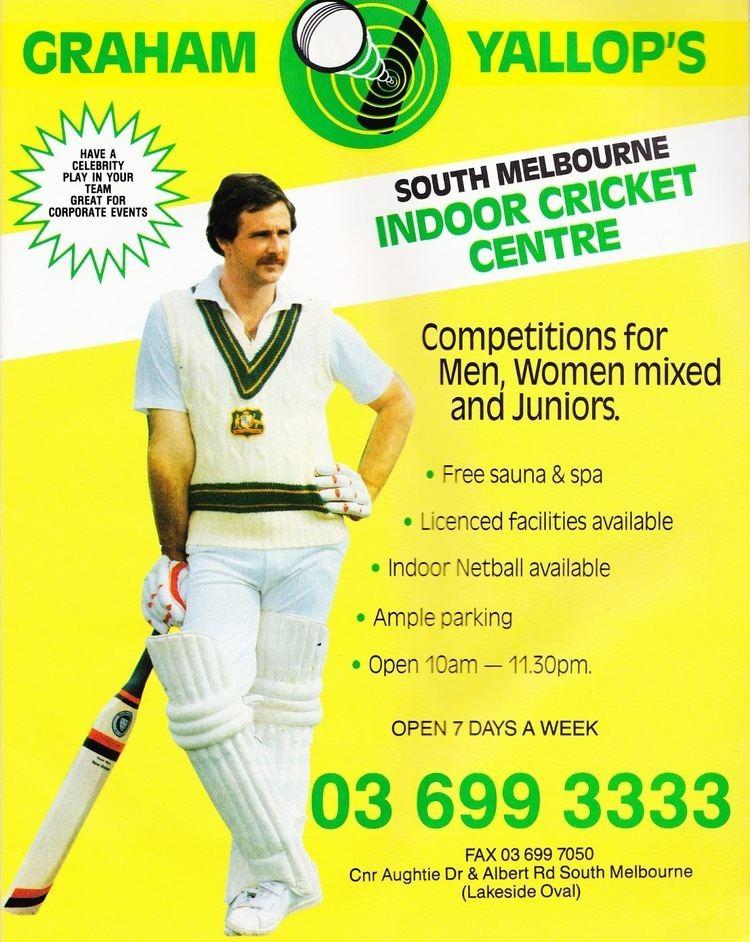 Graham Yallop (Cricketer) playing cricket