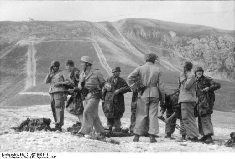 Gran Sasso raid Fallschirmjgernet Gran Sasso Rescue