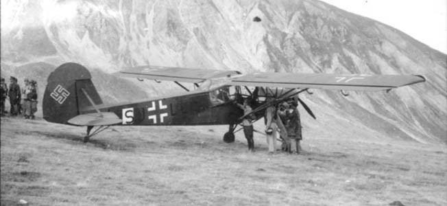 Gran Sasso raid Warfare History Network Operation Eiche Benito Mussolini amp The