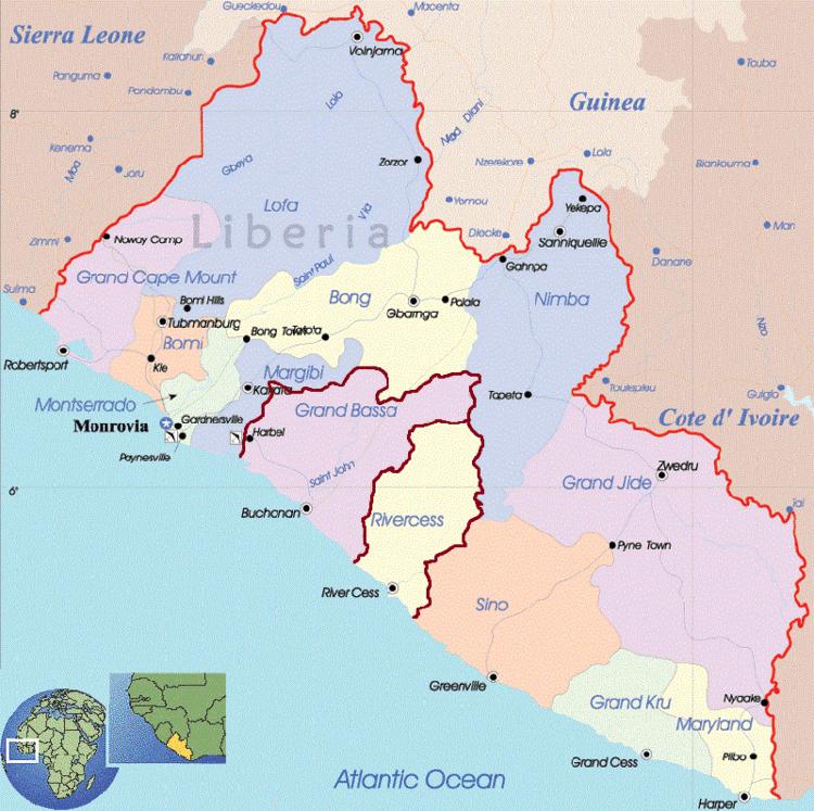 Grand Bassa County in the past, History of Grand Bassa County