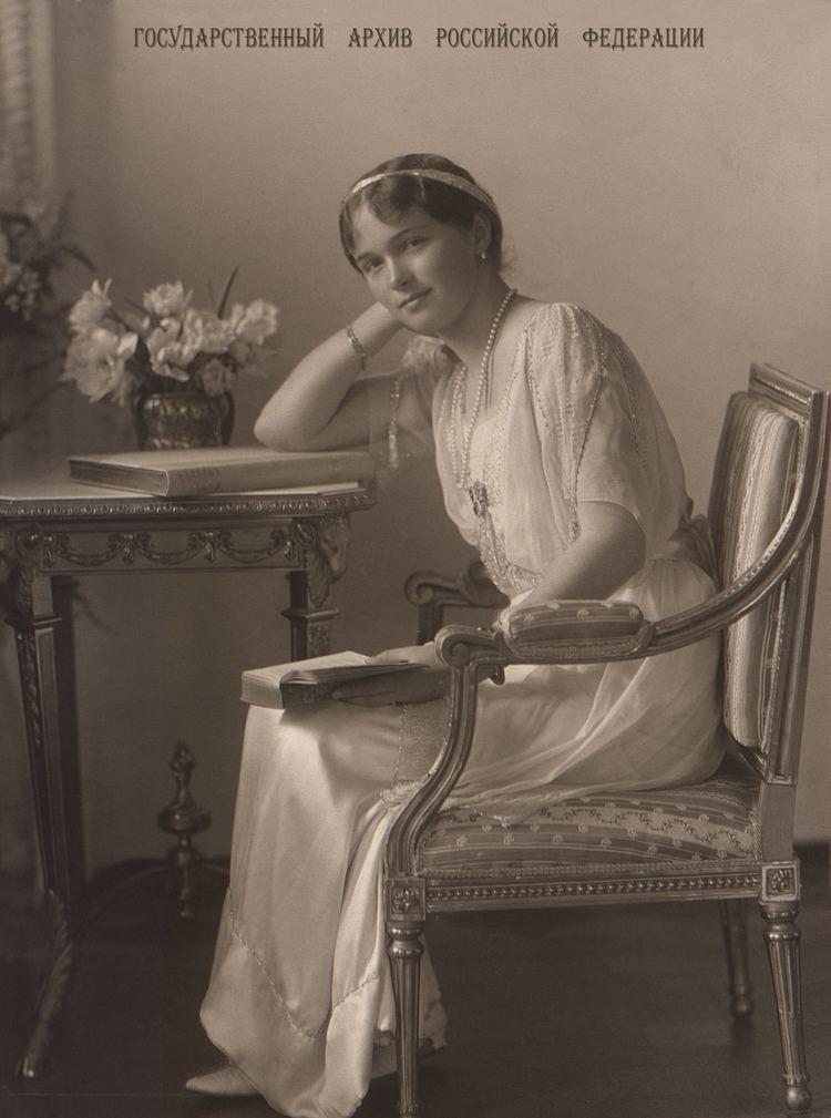 Grand Duchess Olga Nikolaevna of Russia Grand Duchess Olga Nikolaevna of Russia Wikipedia the