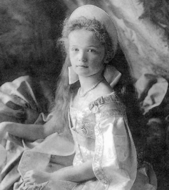 Grand Duchess Olga Nikolaevna of Russia OLGA ROMANOV GRAND DUCHESS OLGA NIKOLAEVNA OF RUSSIA