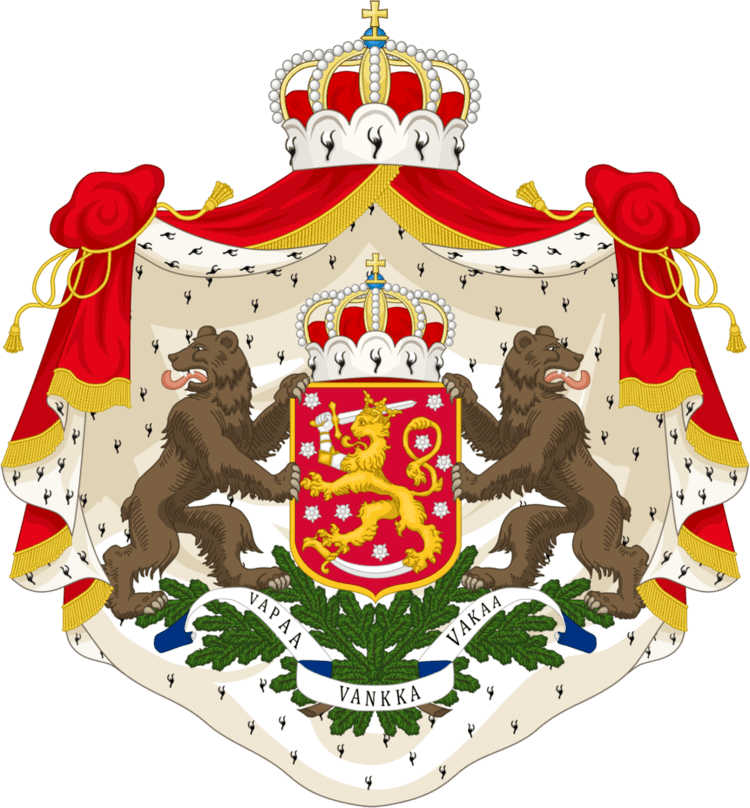 Grand Duchy of Finland CoA of the Grand Duchy of FInland by TiltschMaster on DeviantArt