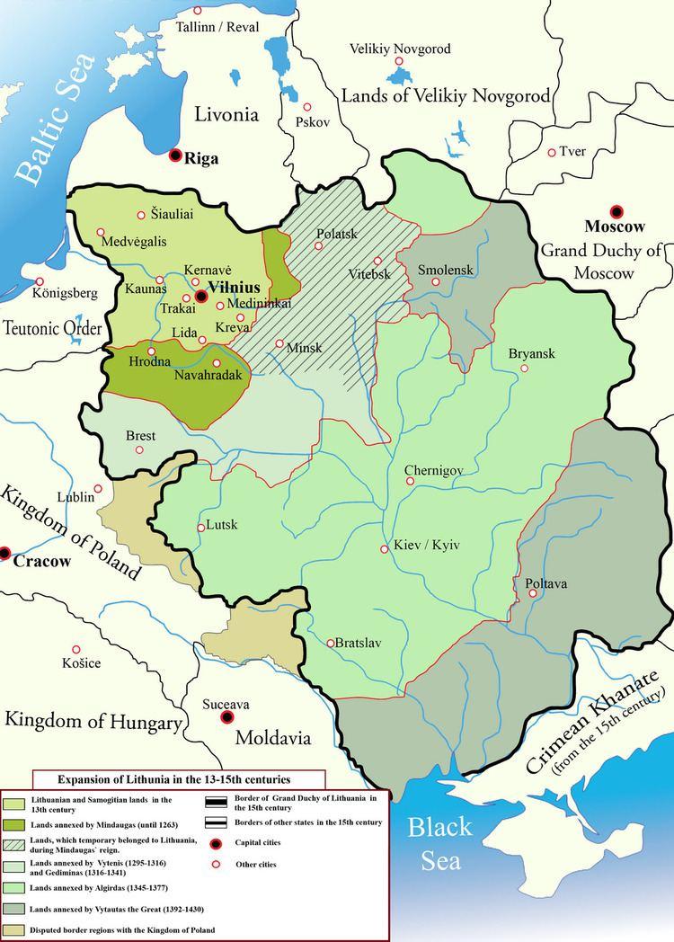 Grand Duchy of Lithuania MuscoviteLithuanian Wars Wikipedia