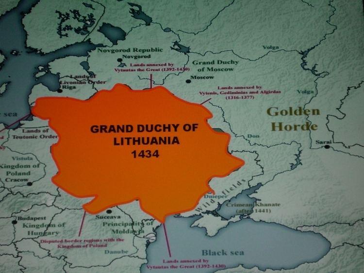 Grand Duchy of Lithuania UKRAINE