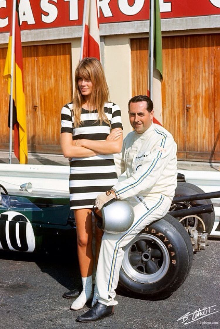 Grand Prix (1966 film) Francoise Hardy on the Set of Grand Prix 1966 Primotipo