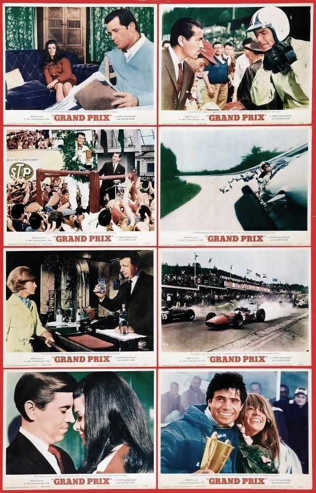 Grand Prix (1966 film) Grand Prix The Movie A Complete History