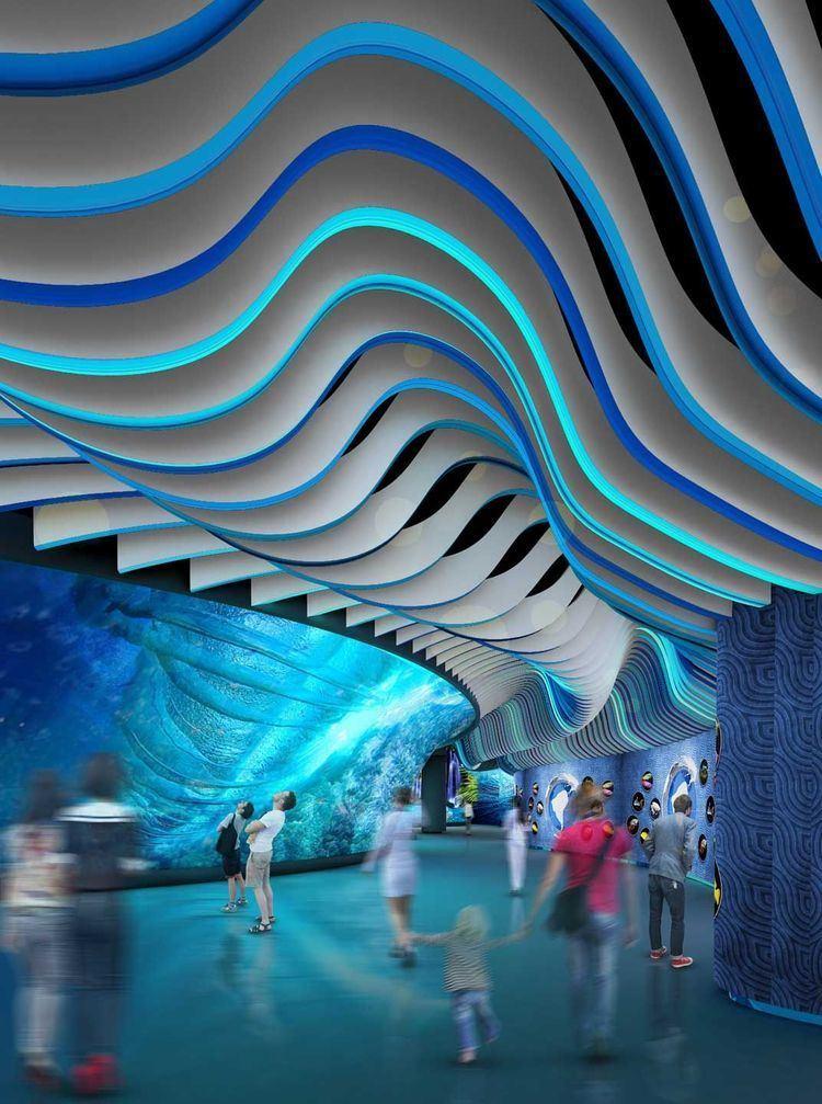 Grandview Mall Aquarium Changsha Grandview Mall Aquarium Peddle Thorp Architects