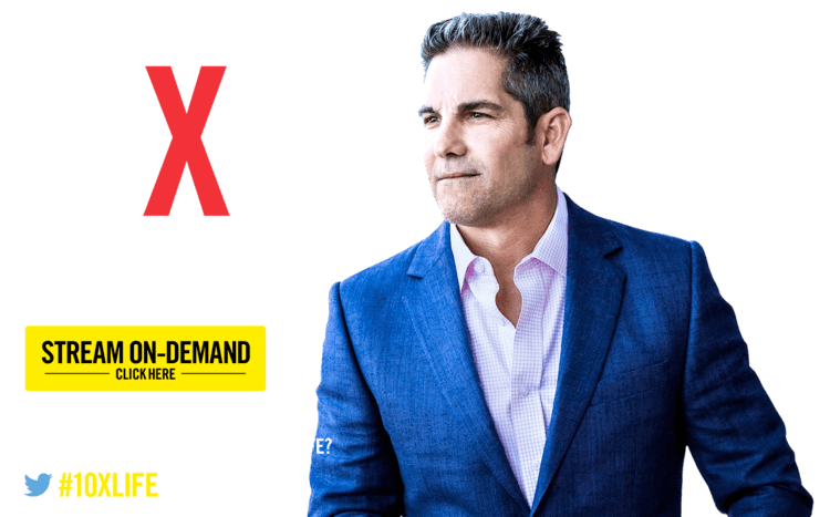 Grant Cardone Work Hard Play Hard with Grant Cardone and 10X Your Life