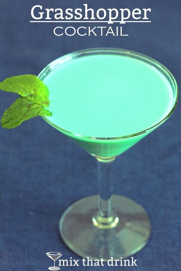Grasshopper (cocktail) Grasshopper Cocktail recipe Mix That Drink