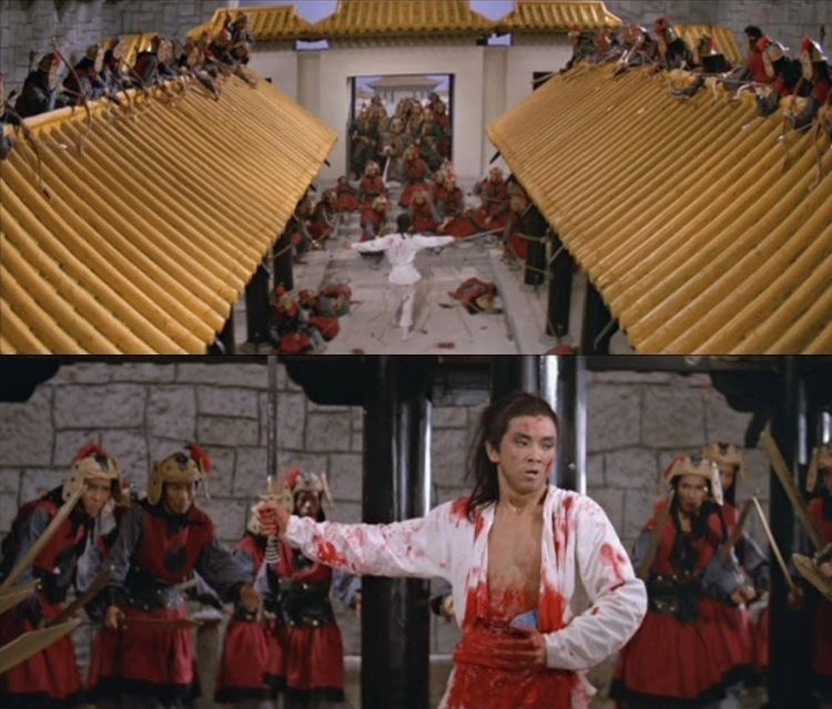 Gratefulness movie scenes One Armed Swordsman movie scenes One of Chang Cheh s best movies is this his