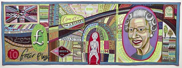 Grayson Perry Grayson Perry39s latest tapestry celebrates mongrel Britain