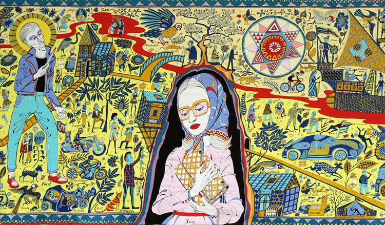 Grayson Perry Grayson Perry39s The Walthamstow Tapestry goes on display