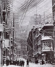 Great Blizzard of 1888 Great Blizzard of 1888 Wikipedia