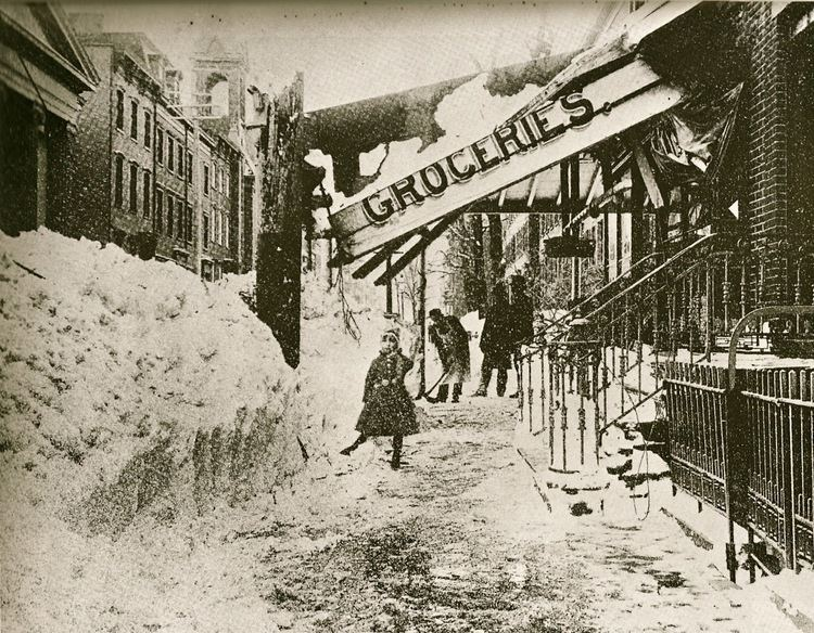 Great Blizzard of 1888 Heretic Rebel a Thing to Flout The Great Blizzard of 1888 White Hell