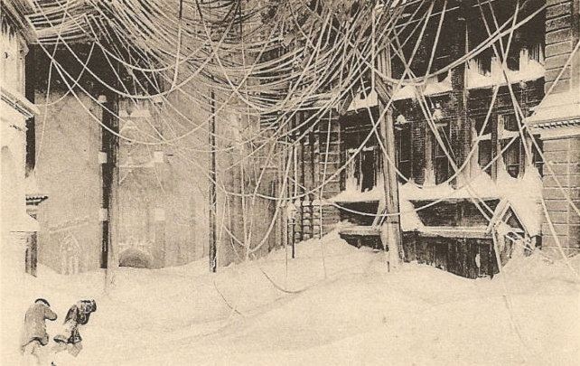 Great Blizzard of 1888 The Biggest New York Snowstorm