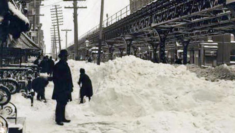 Great Blizzard of 1888 The Blizzard of 1888 quotThe Great White Hurricane That Paralyzed New