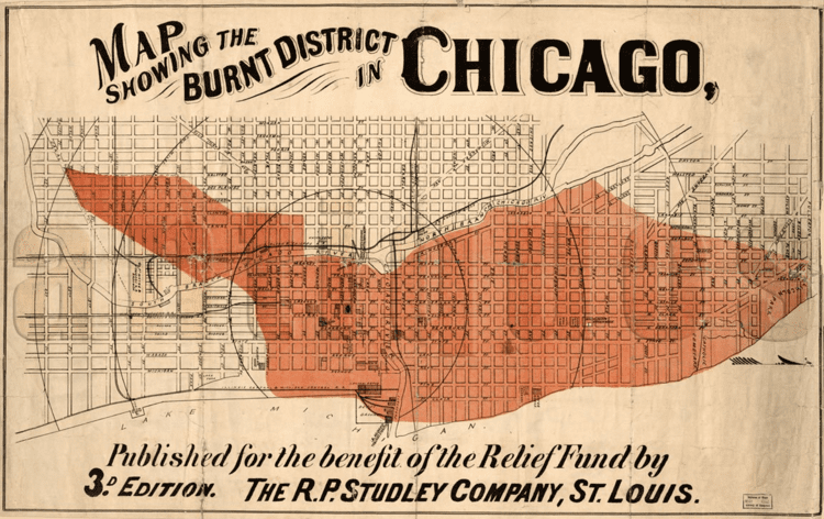 Great Chicago Fire Maps Show How Chicago Was Devastated After the Great Fire of 1871