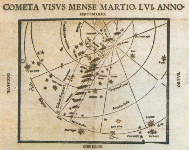 Great Comet of 1556