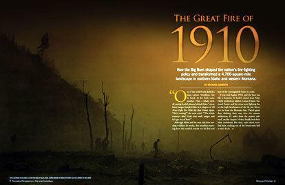 Great Fire of 1910 1910Firejpg