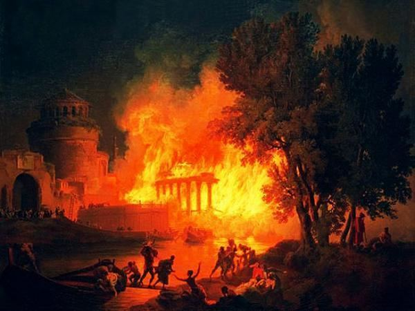Great Fire of Rome The Great Fire of Rome Archeoguidaroma