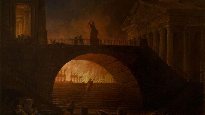 Great Fire of Rome Nero39s Rome burns Jul 18 64 HISTORYcom