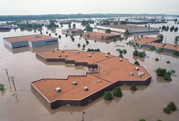 Great Flood of 1993 A look at the Flood of 1993 PostDispatch Archives stltodaycom