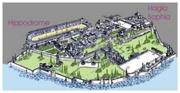 Great Palace of Constantinople httpstheromantictravellerfileswordpresscom2