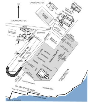 Great Palace of Constantinople Great Palace of Constantinople Wikipedia