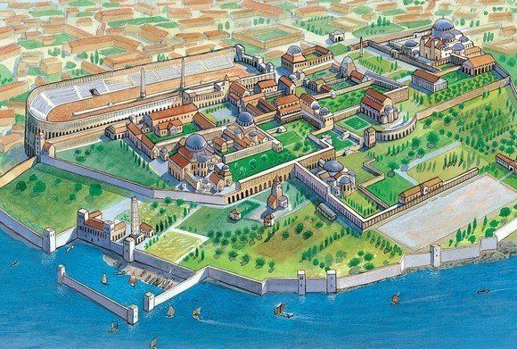 Great Palace of Constantinople Byzantine Emperor39s Great Palace In Constantinople Istanbul Tour Guide