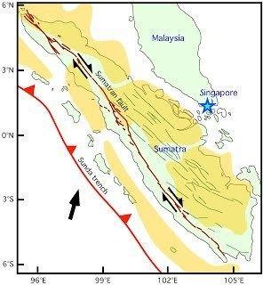 Great Sumatran fault Sumatra Judith Hubbard Asst Prof EOS NTU