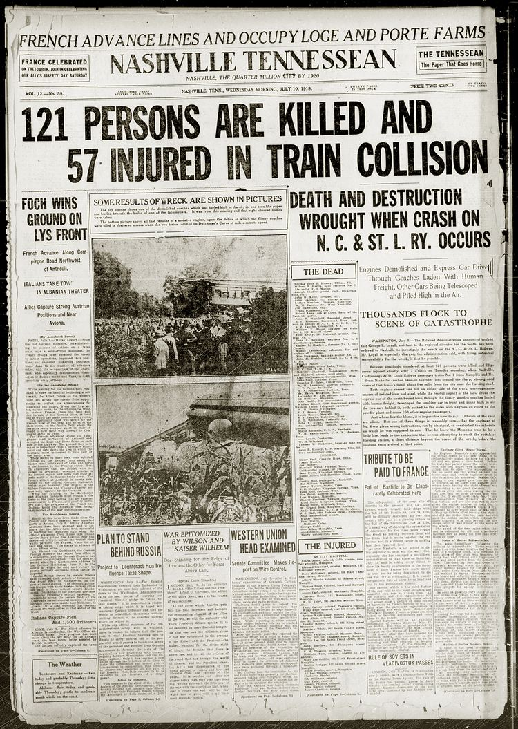 Great Train Wreck of 1918 - Alchetron, the free social